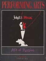 Program for Alley Theatre Jekyll and Hyde
