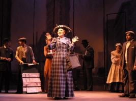 Rebecca Spencer as Dolly Levi in HELLO DOLLY at the Weston Playthouse, VT
