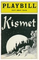 Program for Equity Library Theatre - Kismet