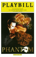 Program for The Venetian - Phantom The Las Vegas Spectacular