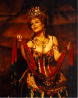 Rebecca Spencer as Carlotta in the Hamburg Company of DAS PHANTOM DER OPER